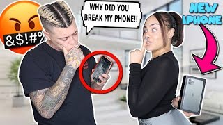 Destroying Boyfriends Phone, Then Surprising Him With iPhone 11