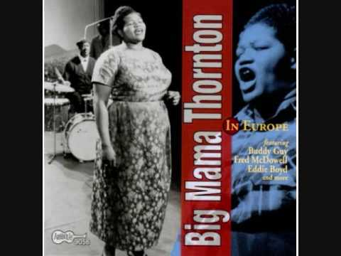 BIG MAMA THORNTON W/ BUDDY GUY - SWEET LITTLE ANGEL - LIVE 1965