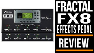 """""""it's easy to say that the FX8 is the most fully featured and best sounding multi effects unit on the market right now."""" Fractal Audio FX8 Multi Effects Review by ..."""