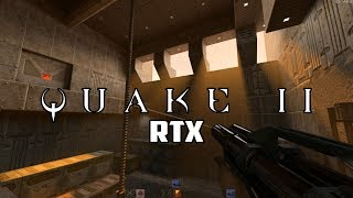Quake II RTX Review (Quake II With Ray Tracing) - GmanLives