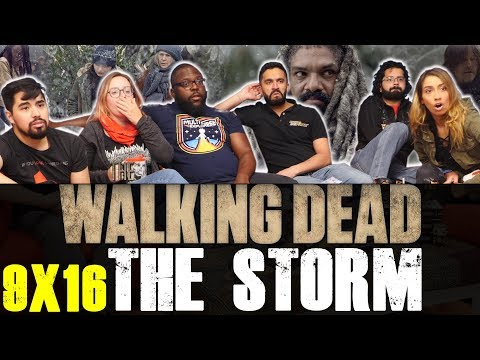The Walking Dead - 9x16 The Storm - Group Reaction