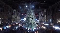 Advent in Zürich - Weihnachtsmarkt im Hauptbahnhof und am Bellevue 2017