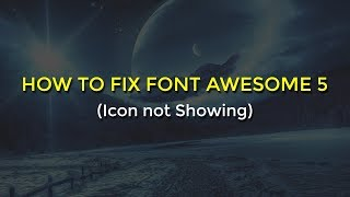 how to Fix Font Awesome Icons Not Showing in WordPress