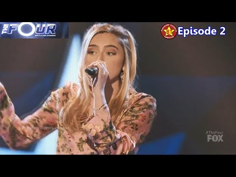 The Four  Kayla Ember 18 year old sings Bad at Love w Intro Story Judges Comments The Four Episode 2