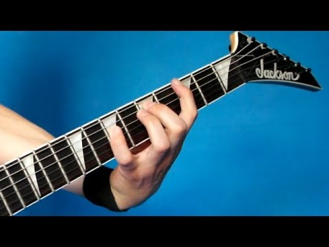 Dimebag vs Hetfield's Technique