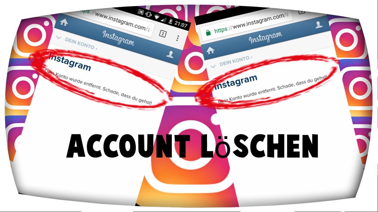 Wie Lösche Ich Mein Konto instagram account löschen handy 2017 ilik