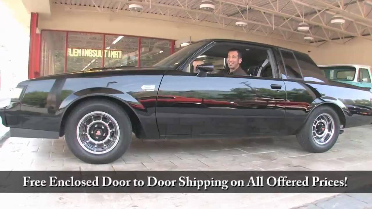 1986 Buick Grand National for sale with test drive, driving sounds, and  walk through video
