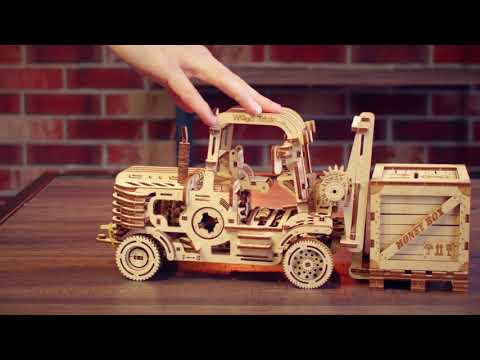 """Wood trick. Review of model """"Forklift"""""""