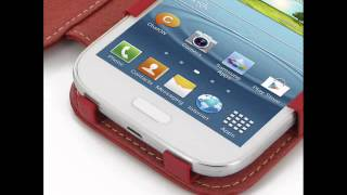 PDair Leather Case for Samsung Galaxy Grand Duos GT-i9082 GT-i9080 - Book Type (Red)