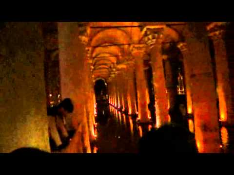 basilica cistern - james bond was here