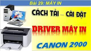 GRATUIT LBP DRIVER TÉLÉCHARGER 2900 I-SENSYS CANON IMPRIMANTE