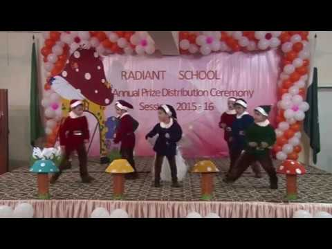 Radiant school 14th prize distribution ceremony session 2015-16 Part 1