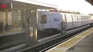 RARE! Fremont bart train at union city with no lights