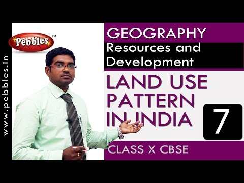 LAND USE PATTERN IN INDIA| Resources and Development| Geography | CBSE Class 10 Social Sciences
