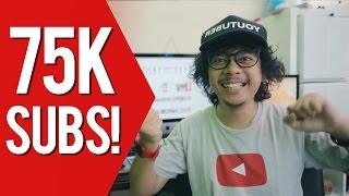hore 75 000 subscribers thank you vlog 015
