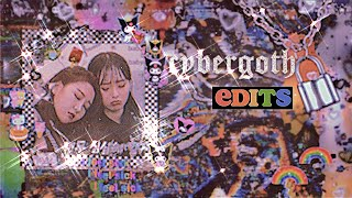 ✦ how to make 𝖈𝖞𝖇𝖊𝖗𝖌𝖔𝖙𝖍 edits ✦ // WATCH ME EDIT