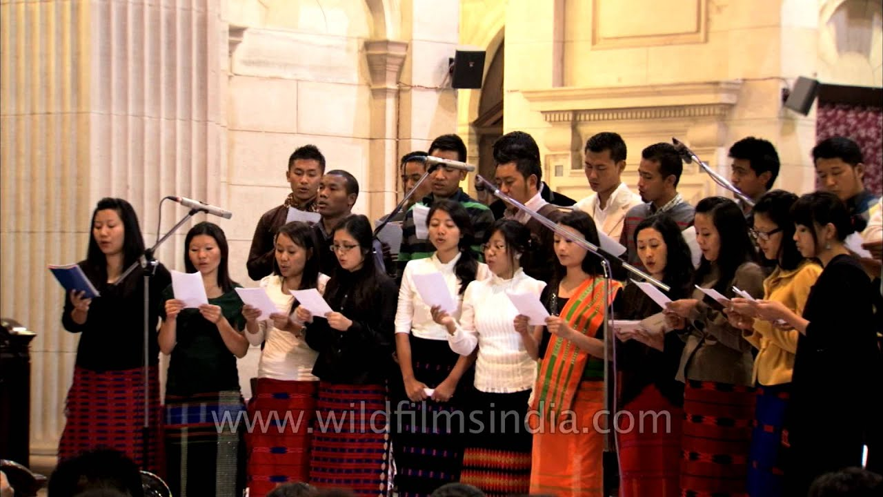 Ao gospel music by Clark Theological College, Mokokchung