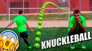 VIRAL Football Free Kicks! - KNUCKLEBALL! You Won