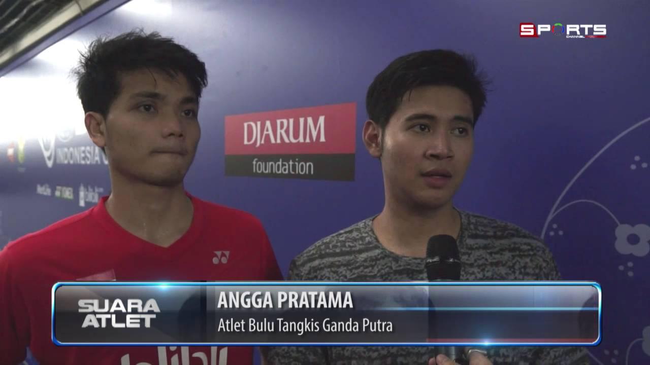 Indonesia Open 2016 Angga Pratama Ricky Karanda Kalah dari Wakil