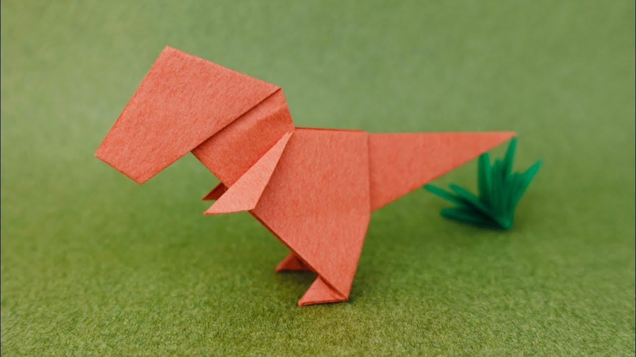 折り紙 恐竜 ティラノサウルス