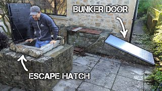 Renovating the Abandoned WW2 Bunker in my Garden | FULL BUILD