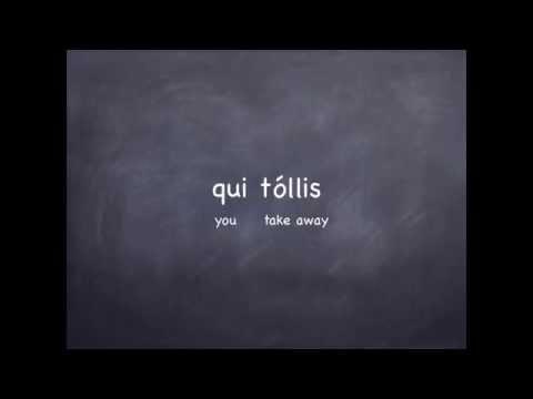 Agnus Dei:  Latin Pronunciation