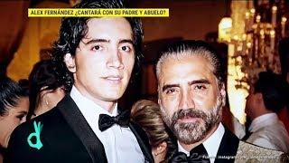 ¿Alex Fernández hará dueto con su padre Alejandro y su abuelo Vicente? | De Primera Mano
