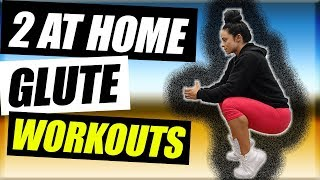 2 at Home Glute Workouts for Girls