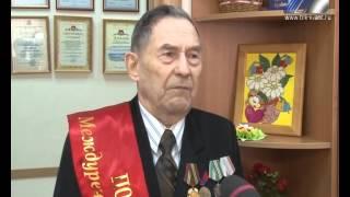 Вручение медалей «60 лет Междуреченску» в Совете ветеранов