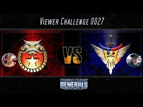 [C&C Zero Hour] 1vs7 - Inf vs Air - Viewer Challenge 0027 - Cat Cam