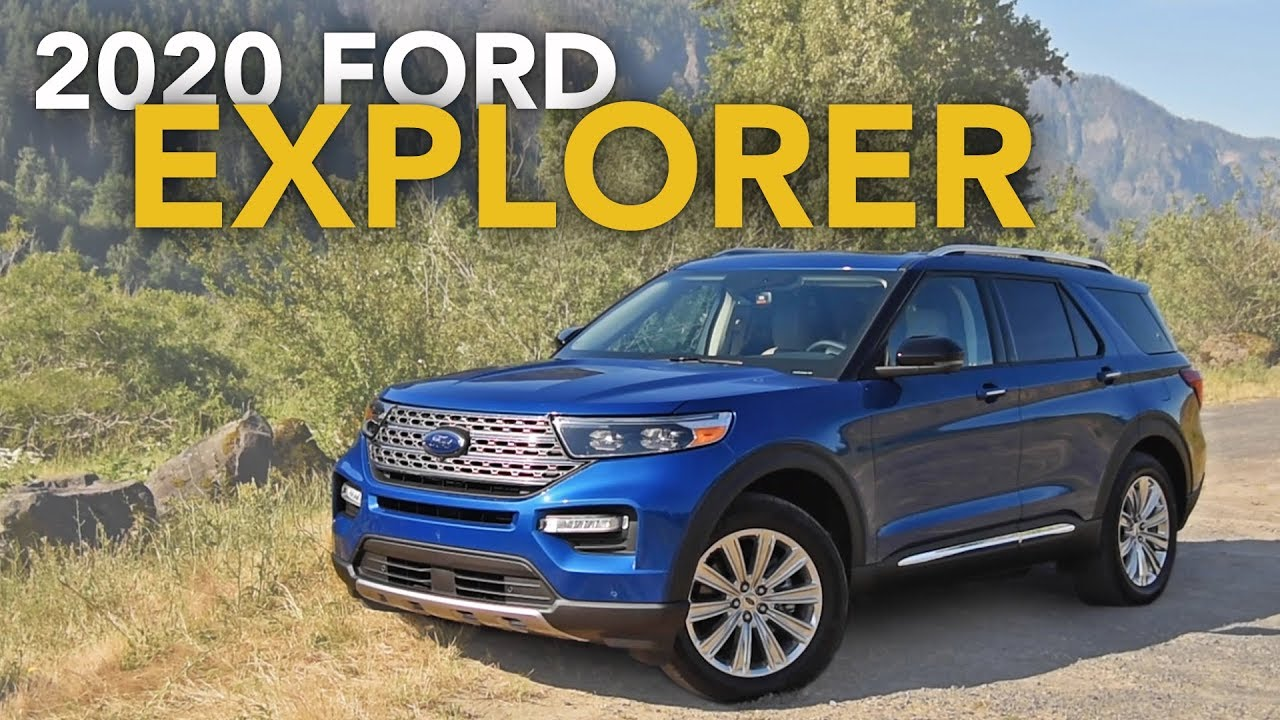 2020 Ford Explorer Review First Drive