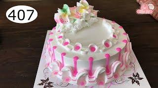 chocolate cake decorating bettercreme vanilla (407) Học Làm Bánh Kem Đơn Giản Đẹp -  Fire (407 )