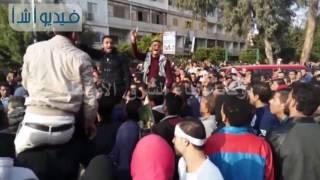 مواطنون يتظاهرون تضامناً مع ضحايا الكنيسة البطرسية