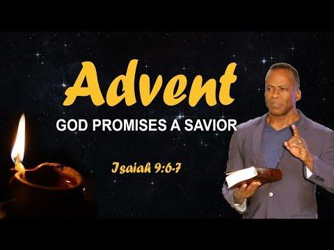 Dr Gene James- Advent: God Promises a Savior