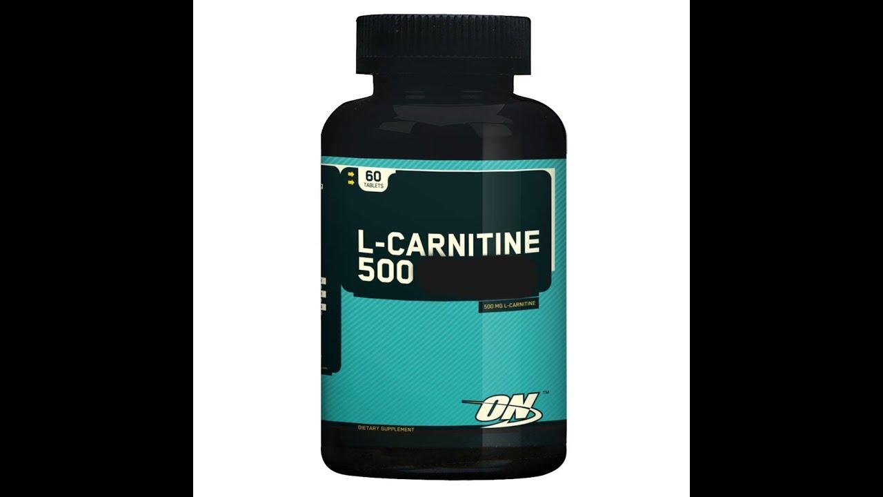 Review L-Carnitine Optimum Nutrition