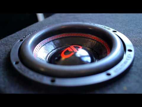 """Banging 8"""" T-line subwoofer! Digital Designs 508"""