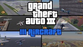 GTA 3 Flugzeuge und Helikopter fliegen Mod III Aircraft