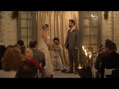 AMANDA N DEAN WEDDING MINISTER MINI ELVIS  CEREMONY DWARF MIGHTY MIKE a6500 CDJ-2000