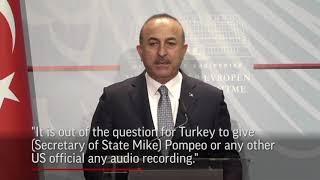 Turkey probes if Khashoggi taken from consulate