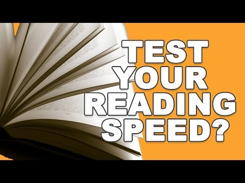 Test your reading speed