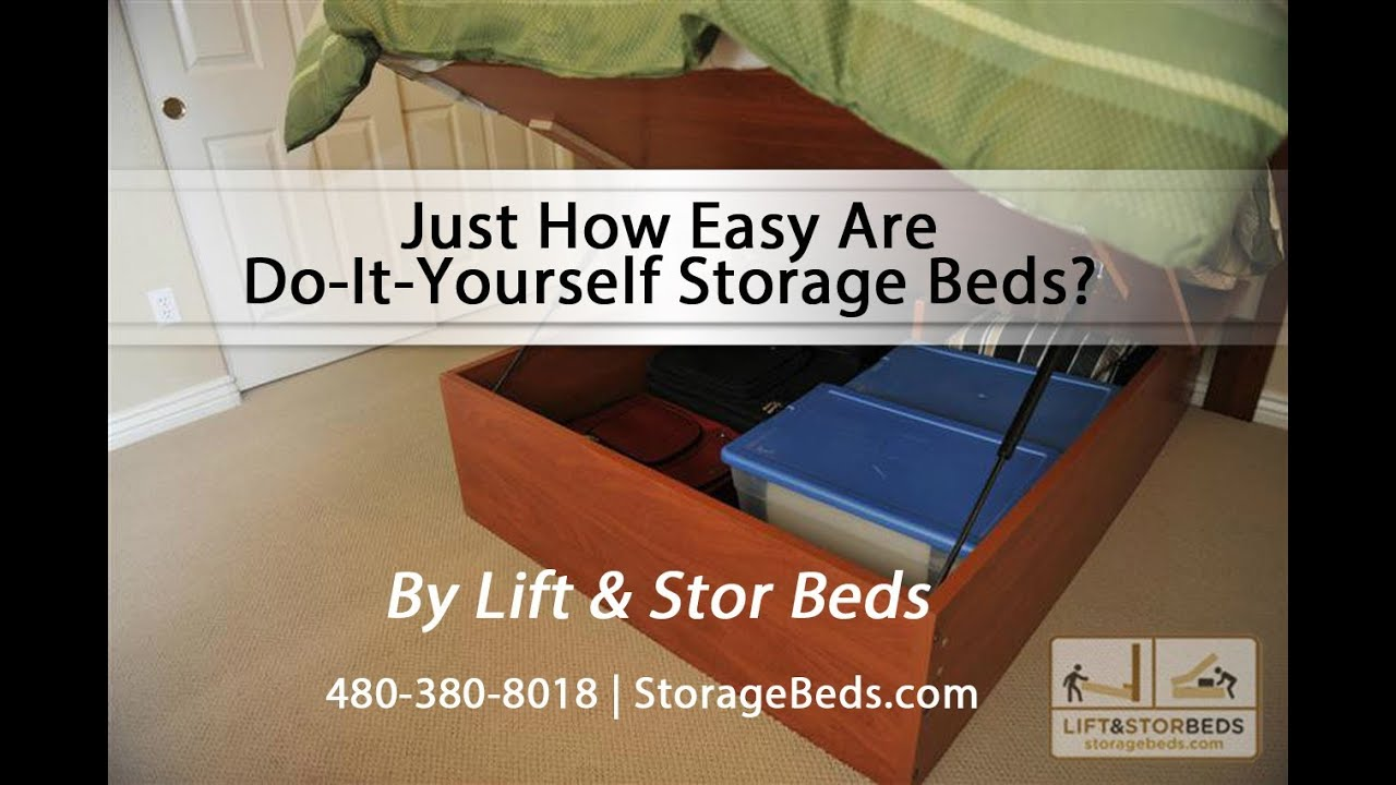 Just How Easy Are Do-It-Yourself Storage Beds From Lift & Stor Beds ...