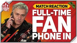 MOURINHO TIME UP? Southampton 2-2 Manchester United Fan Call In!