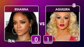 Home Battle | Rihanna vs Aguilera  | The Real Italia