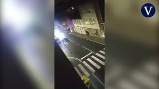 Detenido tras embestir a 5 coches policiales y herir a 4 agentes en una persecución en Ordes