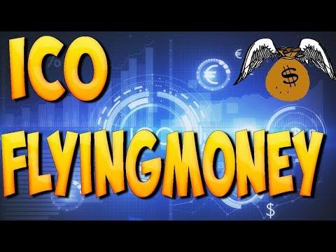 Как заработать в ICO Flying Money  1 ETH старт 50% на покупку токенов
