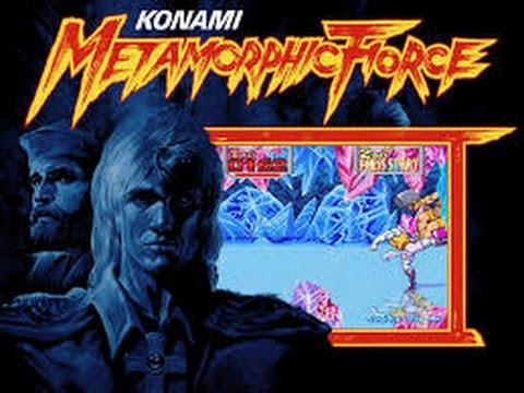 Metamorphic Force Arcade Youtube