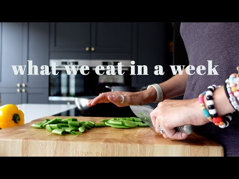 WHAT WE EAT IN A WEEK | 5 FAMILY MEAL IDEAS | JULY 2020