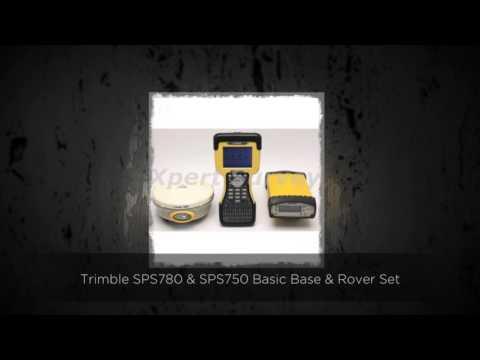 Trimble SPS780 & SPS750 Basic Base & Rover Set