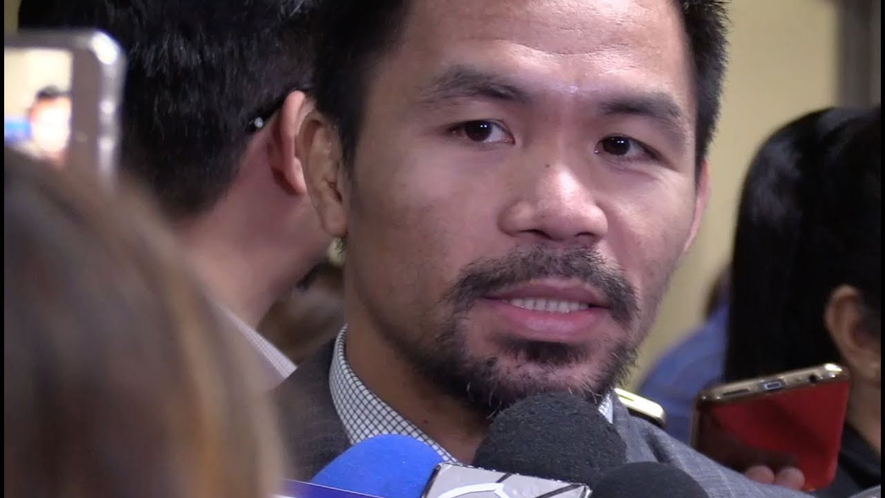 Pacquiao: PH leader should have 'balls'
