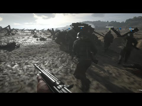 D-Day | Hell's Let Loose (100 Players Omaha Beach Invasion!)